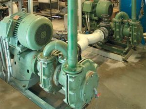 sludge and slurry pump